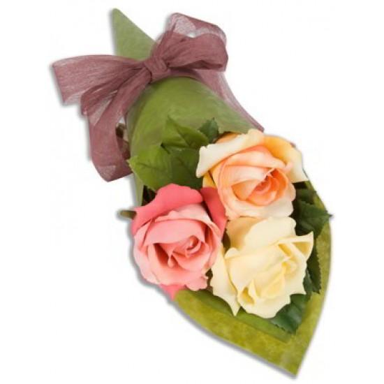 3 Rose Simple Bouquet